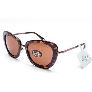 Fossil Women's Cat Eye Sunglasses FW 163 Tortoise